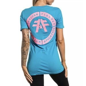 AMERICAN FIGHTER Womens T-Shirt LORENZO Athletic